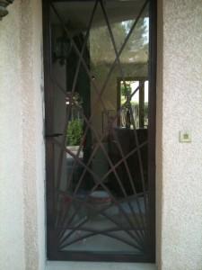 photos de portes fenetres en fer forgé